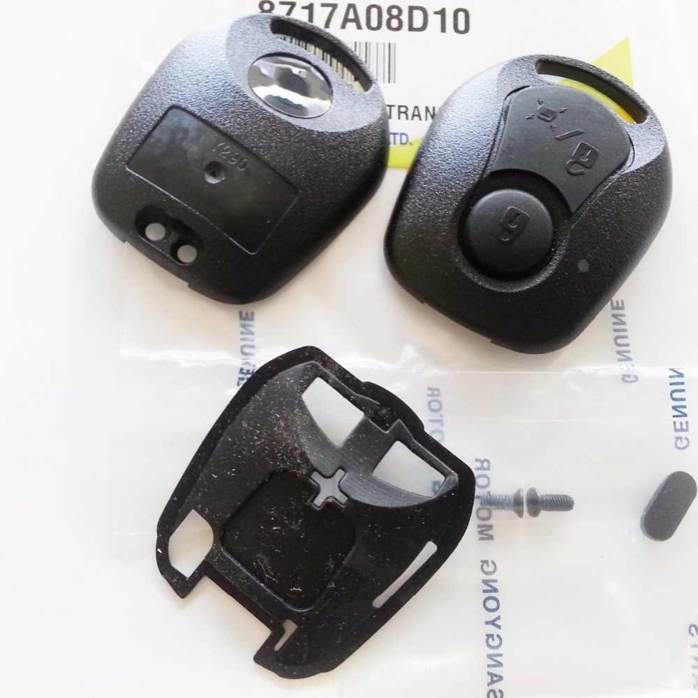 Kyron Rxton 06-10 #8717A08D10 OEM Key Plate /& Case Ssangyong Actyon Sports