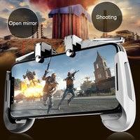 Smartphone Gamepad AK16 Shooter Trigger Gamepad Phone Holder Mobile Controller Mobile Game Controller Professional Portable|Gamepads| |  -