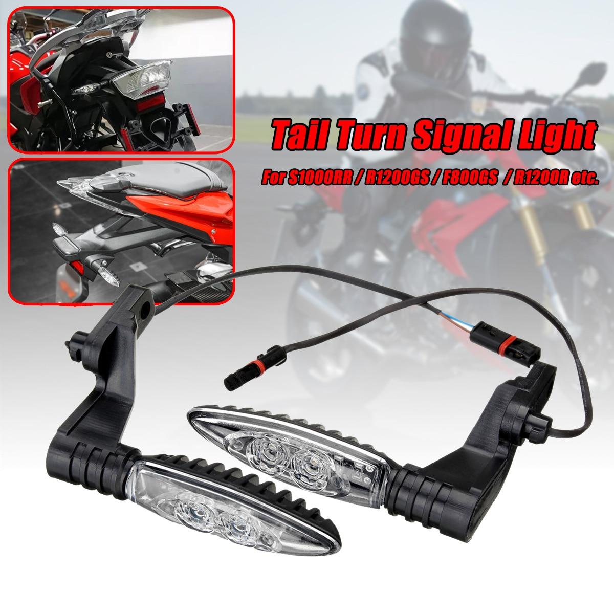 4pcs 12V Motorcycle Rear LED Turn Signal Indicator Lights Motorbike Tail Flashing Blinker for BMW S1000RR R1200GS F800GS s1000rr turn led lights