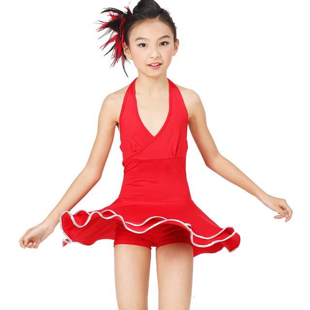 Red Halter Dance Dress