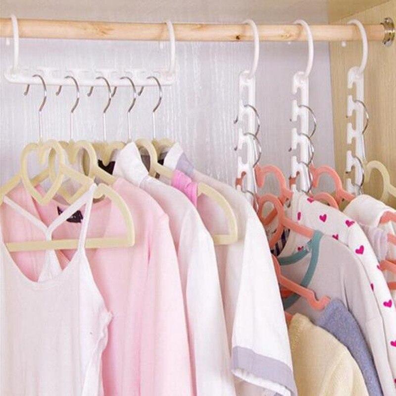 e2628477f13 Junejour 1PC Mult-function Space Saving Hanger Plastic Cloth Hanger Hook  Magic Clothes Hanger With. US  0.91. 2 orders. DUBERY Polarized Sunglasses  Men s ...