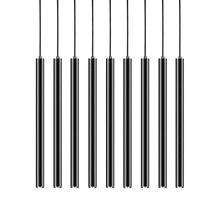 Диммируемая Подвесная лампа современная кухня лампа столовая Бар Магазин счетчиков труба подвеска вниз светодиодные трубки офис точечный свет 3 см