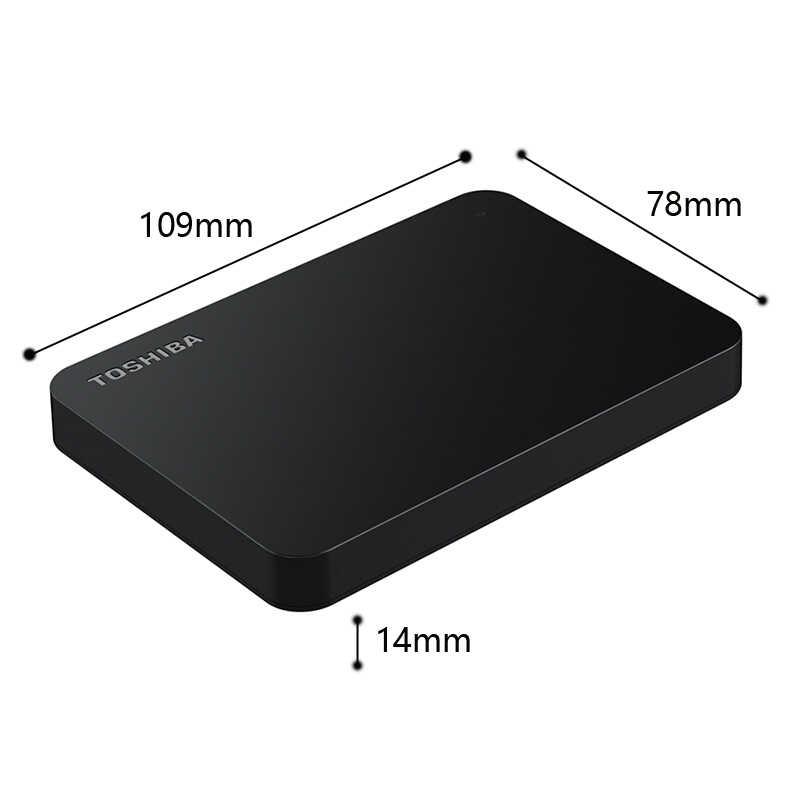 """TOSHIBA 500 Гб внешний жесткий диск HDD HD Портативный запоминающее устройство CANVIO Основы USB 3,0 SATA 2,5 """"для портативного компьютера PS4"""
