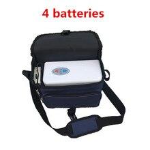 COXTOD 4 батареи натуральная портативный концентратор кислорода Главная Путешествия с Автомобильное зарядное устройство