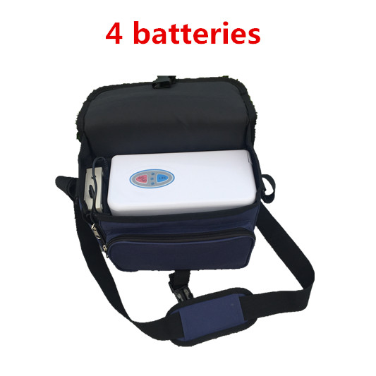 COXTOD 4 font b batteries b font Genuine Portable Oxygen Concentrator home travel with car font