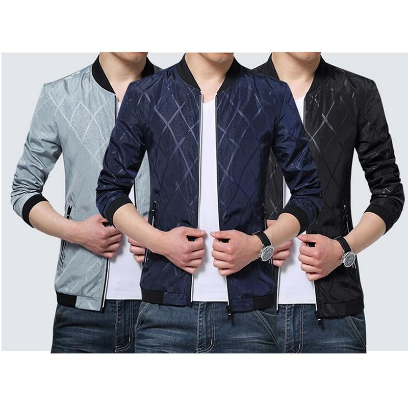 5ac98e4616a New Arrival Men Jacket Coat Men s Jackets Fashion Coats Male Casual Slim  Bomber Jacket Men Outerdoor Casual Mens Jackets Coats-in Jackets from Men s  ...
