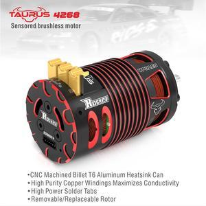 SURPASSHOBBY Rocket 4268 V2 2700KV 2350KV 2000KV 1850KV 1550KV Sensored Brushless Motor for 1/8 RC On-road Off-road Car(China)