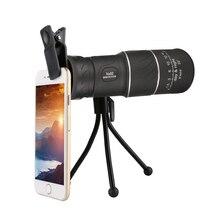 цена на 52 HD Spotting Scope Monocular with Tripod Adjustable Single Telescope Full Optical Night Vision for Birdwatching Outdoor Hiking