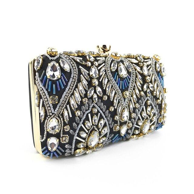Exquisite Luxury Diamond Rhinestone Clutch  3