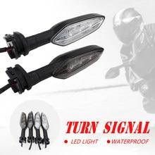 Led sinal de volta luz indicadora para yamaha r1 r6 acessórios da motocicleta blinker lâmpada intermitente parar frente ou traseira seta moto