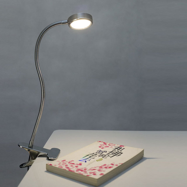 Obama said  good desk lamp ,led clip light, creative learning bedside lamp, dimming USB small table lamp