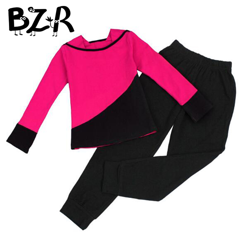 Bazzery Girls Adult Women Yoga clothing word collar girl Spring Autumn Winter Fitness Dancing Clothes Leisure Sportswear Suit