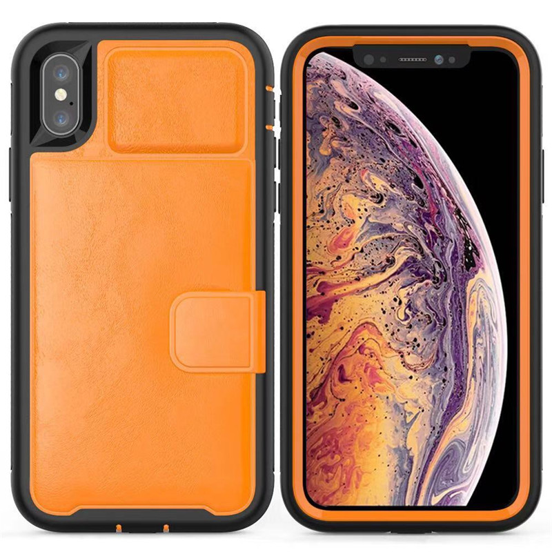 Luxury Leather cover phone bag for the iPhone case X XS XR XsMax 8 7Plus 6 6S Plus Back Cover For iphone 7 Cover iphone 6s case in Wallet Cases from Cellphones Telecommunications