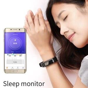 Image 4 - SKMEI inteligentna bransoletka sport tracker fitness 24 godzin monitor pracy serca, IP67 głębokie wodoodporna Super długi czas czuwania Smartband B32