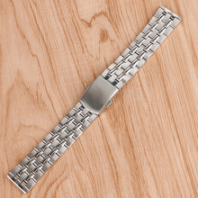 2016 High Quality Silver 18mm 20mm Stainless Steel Watchbands Strap Bracelet For Men Women Watches Replacement GD0105 high quality silver 18mm 20mm stainless steel watchbands strap bracelet for men women watches replacement with spring bars