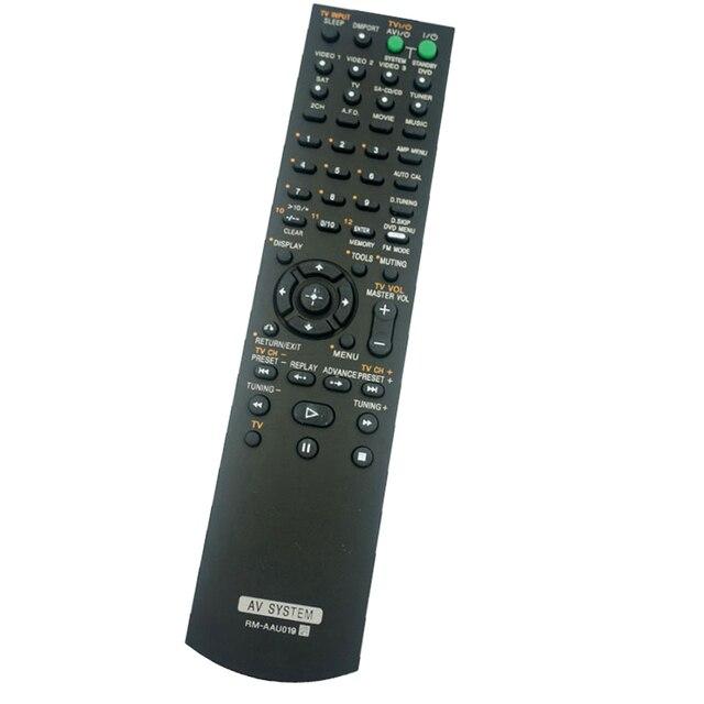 新しいRM AAU019 ソニーオーディオ/ビデオレシーバリモートコントロール用RM AAU017 RM AAU006 ためHT DDW670 HT DDW670T STR K670P fernbedienung