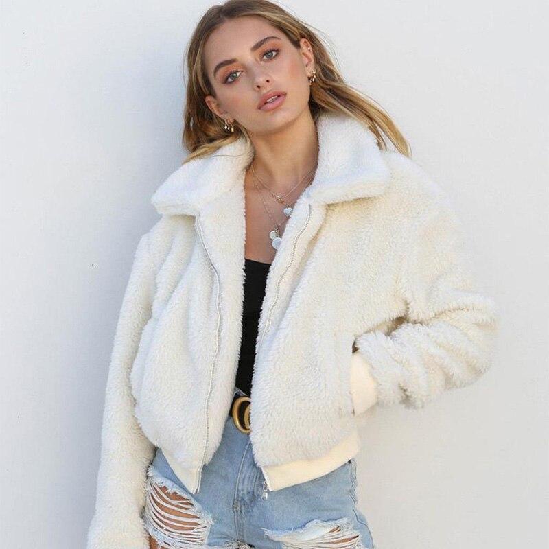 Женское зимнее пальто с длинным рукавом, большой свободный трикотажный джемпер, верхняя одежда, пальто, Новая модная женская одежда