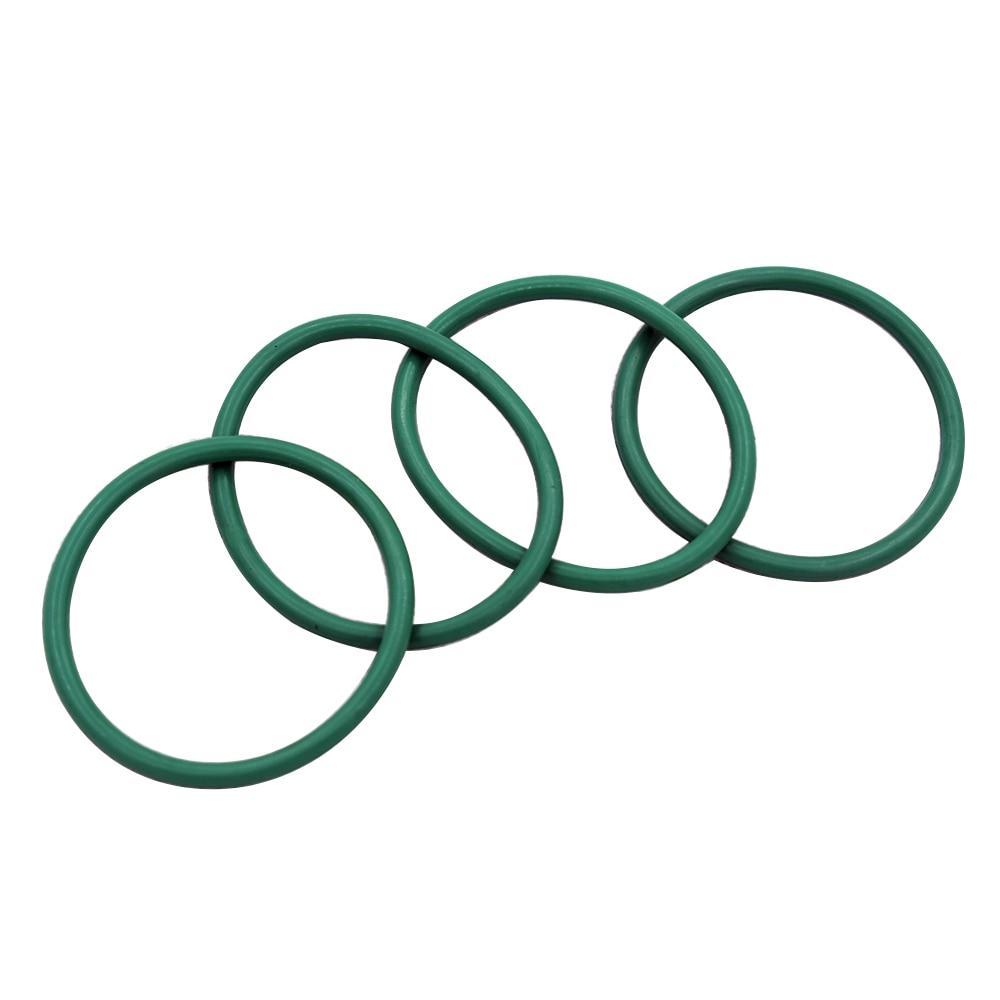 Grün Fluor Gummi 4mm Dicke O Ringe Dichtungen Washer 12-460mm Außerhalb Durchmesser FKM O Geformt Ringe washer Dichtungen