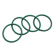 Green Fluorine Rubber 1mm Thickness O Rings Seals Washer 4-32mm Outside Diameter FKM Shaped Gaskets