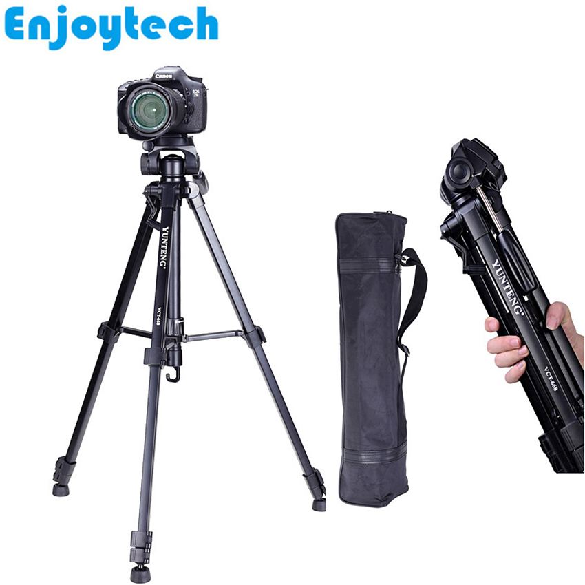 цена на New Professional Tripod for Cameras Photography Shooting Portable Tripod Stand for Nikon/Canon/Sony DSLR/SLR DV Cameras
