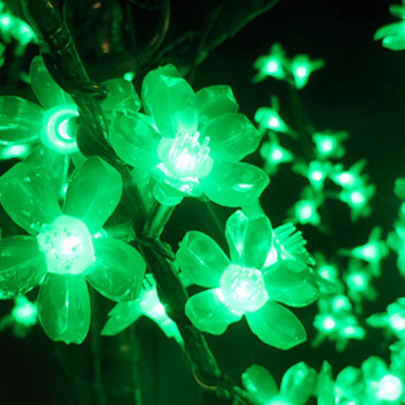 Image 5 - Outdoor Waterproof Artificial 1.5M Led Cherry Blossom Tree Lamp 480LEDs Christmas Tree Light for Home Festival Decoration-in Holiday Lighting from Lights & Lighting