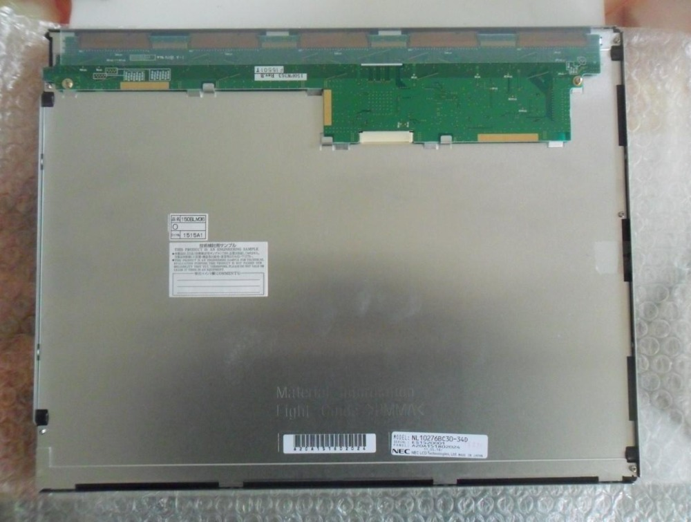 Honest For Nec Nl10276bc30-34d 15 Inch 1024*768 Lcd Display Specially For Pro-face Fp3710-t42-u Rapid Heat Dissipation