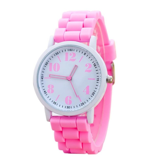 5ea411d88e8c 2017 New Arriva Women Silicone Watch For Students Girls Quartz Watches  Reloj Pulsera Mujer Analog Sports Womens Watches
