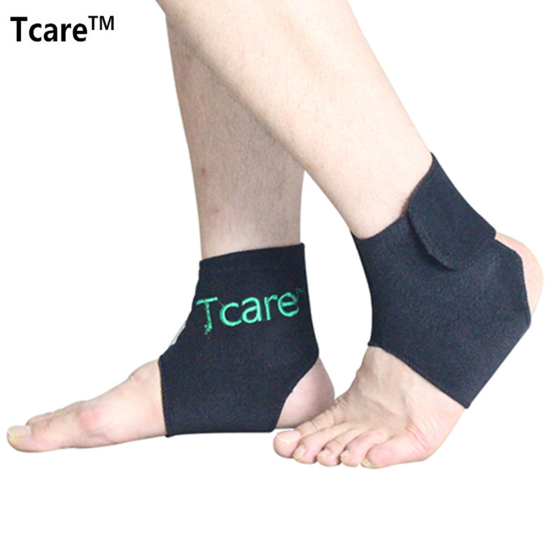 1 Pair Hot Sale Health Products Self-heating Tourmaline Ankle Brace Support Magnetic Therapy Ankle Massager Tourmalin Belt