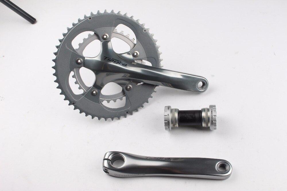 Shimano Tiagra 4650 10 Speed road bike bicycle bmx Crankset 50 34T 165 170 172 5