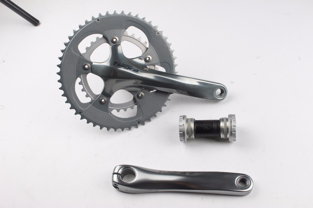 Shimano Tiagra 4650 10 Speed road bike bicycle bmx Crankset 50/34T 165 170 172.5 175mm with bb4600 bmx система united williams bossless nash v2 175mm 22mm 48 шлицов