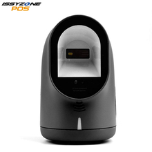 ISSYZONEPOS 2D Barcode Scanner for Omnidirectional Reader Supermarket Retail Store Mobile Payment Automatic Scan Computer Screen m3 2d qr wired handheld rs232 laser barcode scanner reader support mobile payment computer screen scanner