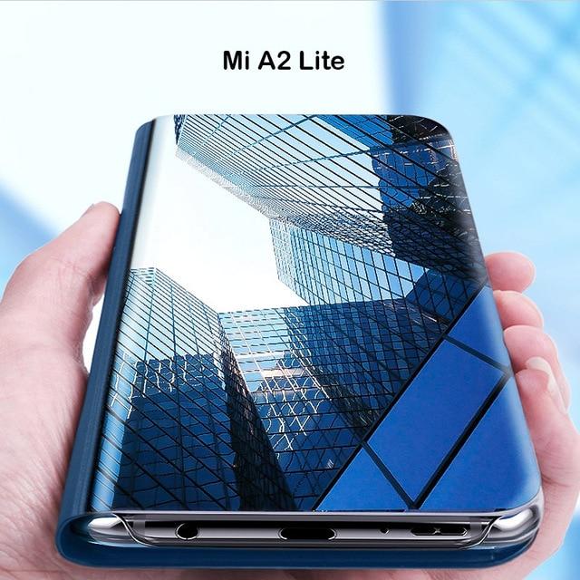 size 40 621e4 5ed21 US $4.79 20% OFF|Mirror Case For Xiaomi Mi A2 Lite On Redmi 6 Pro Smart  Mirror Clear View Flip Cover Case For Xiaomi Mi A2 Lite Redmi6 Pro-in Flip  ...