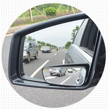 Car Blind Spot Mirror Top Quality HD Wide Angle Scope Glass Car Rear View Assistant Mirror Antioxidant Adjustable ABS Frame