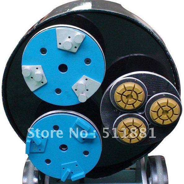 3 ''80 мм NCCTEC подушка для мокрой полировки для бетона | установка в NCCTEC L357, M3, L4480, L4580, L4680 полотер