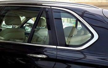 Dla BMW X5 F15 2014-2017 drzwi zewnętrzne okna listwy 12 sztuk ze stali nierdzewnej