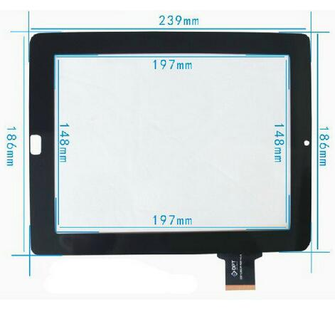 Witblue New touch screen For 9.7 Ritmix RMD-1035 RMD1035 Tablet Touch panel Digitizer Glass Sensor Replacement Free Shipping black new 10 1 ritmix rmd 1029 rmd1029 tablet touch screen panel digitizer glass sensor replacement freeshipping