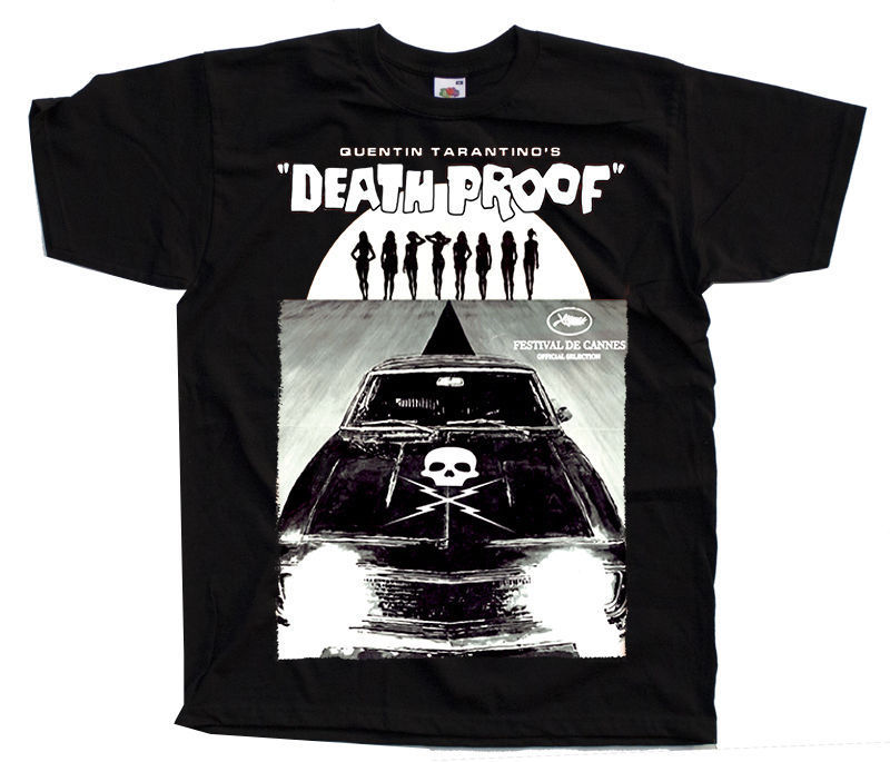 Death Proof Ver 10 Quentin Tarantino Postert Shirt All Sizes S To 4Xl