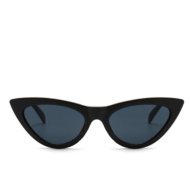 Women Small Cat Eye Sunglasses Red Frame Women Brand Designer Ladies Sun glasses Vintage Sexy Eyewear Shades UV400