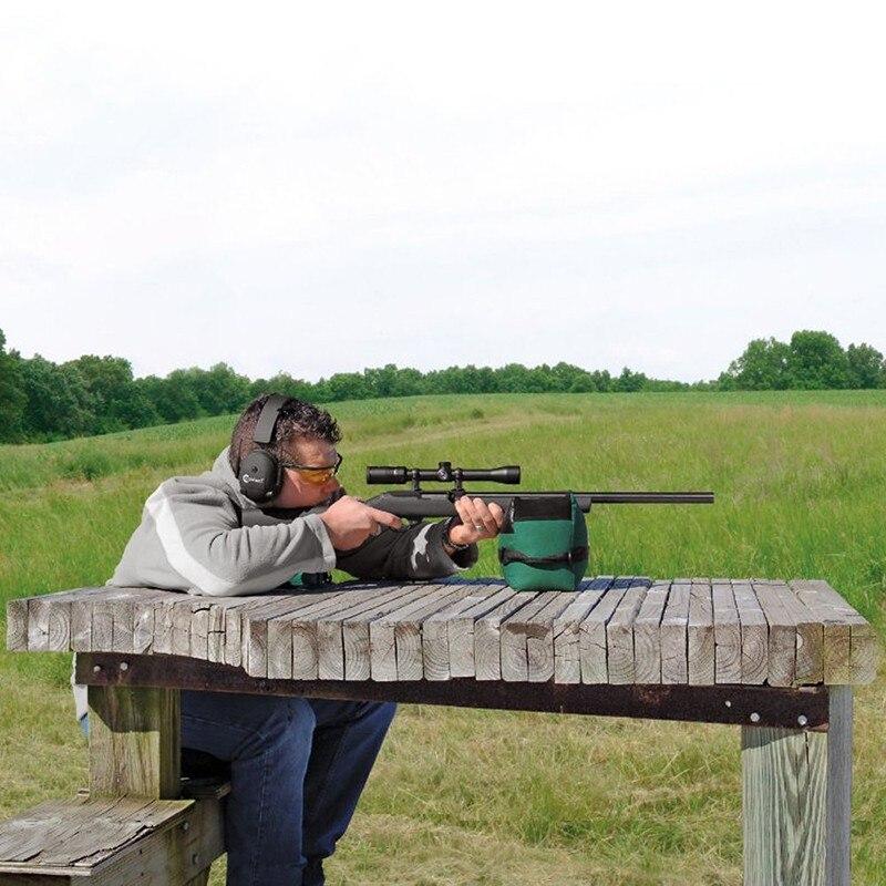 Shooting Rear Gun Rest bolsa portátil frente y trasero Rifle Target Hunting Bench Unfilled Stand Hunting Gun accesorios 2017New