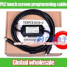 1 шт. Кабель для программирования сенсорного экрана PLC для Schneider/кабель для скачивания данных TSXPCX3030-C TWIDO TSX Neza MIRCO PREMIUM M340