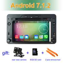 Android 7.1.2 Car dvd player for Alfa Romeo Spider Alfa Romeo 159 Brera 159 Sportwagon with GPS WIFI BT