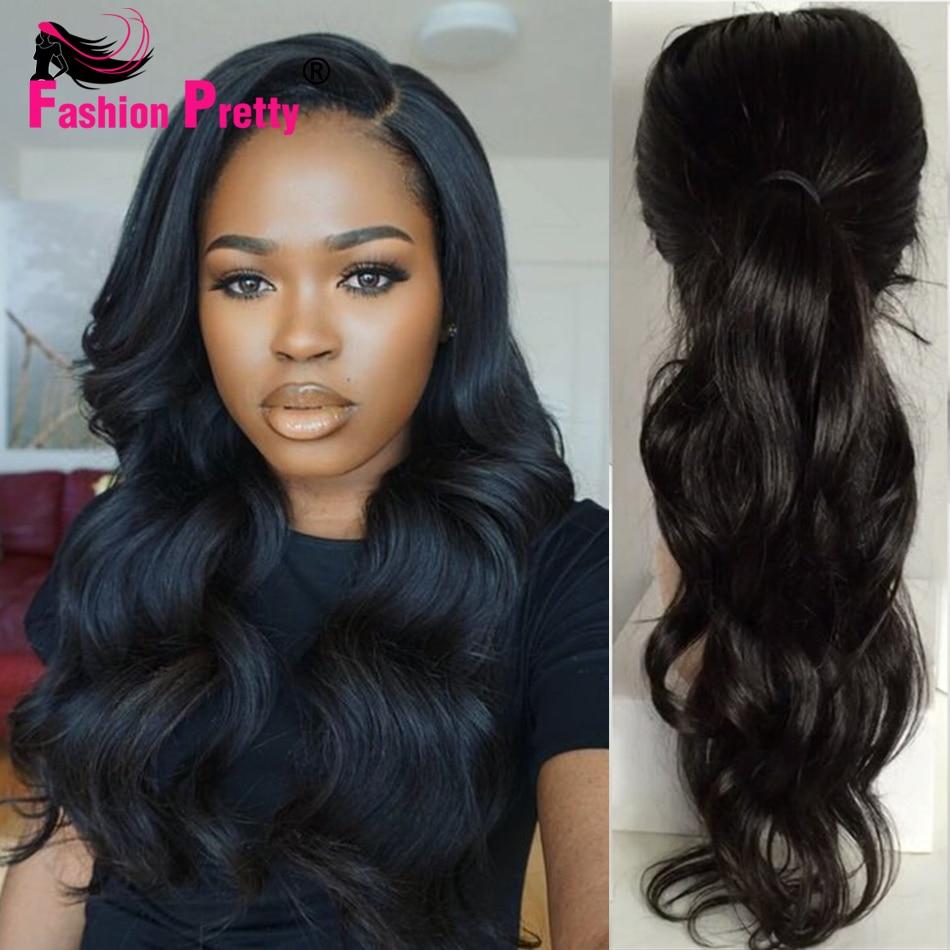 Peruvian Wavy Hairstyles Long Wavy Peruvian Lace Front Wig Virgin Human Hair Glueless Full