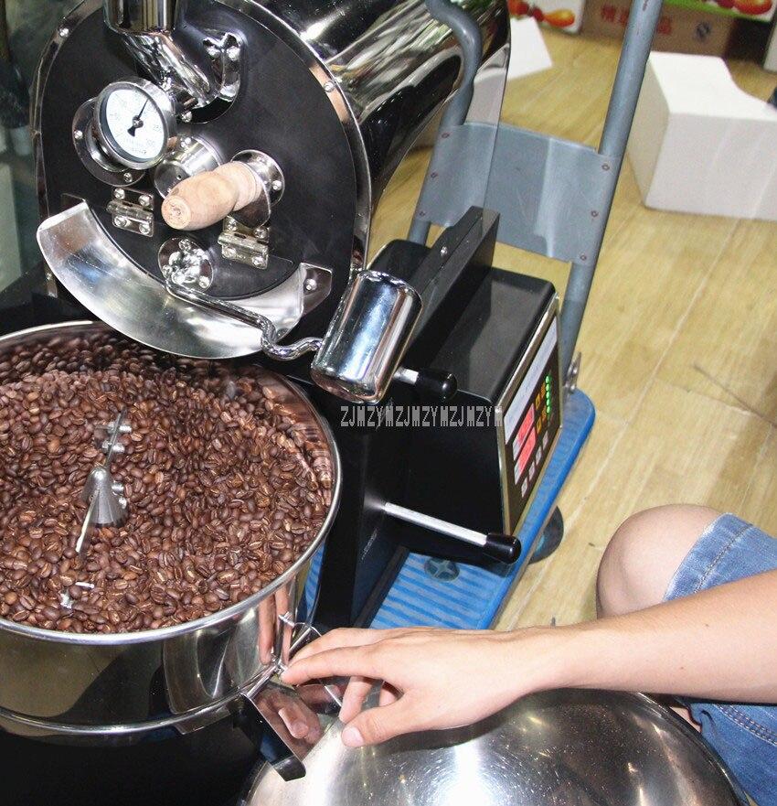 1KG Capacity Electric Coffee Roasting Machine Commercial Professional Coffee Bean Roaster Roasting Machine 220V/110V WB-A01 7