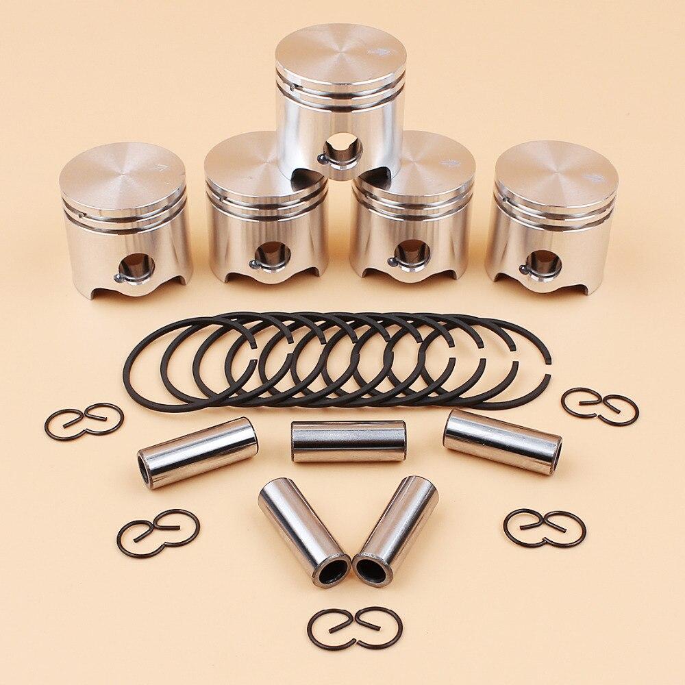 home improvement : 5Pcs lot 35mm Piston Pin Rings Kit For STIHL FS120 FS120R FS300 BT121 FS 120 300 Brushcutter Grass Trimmer Spare Parts