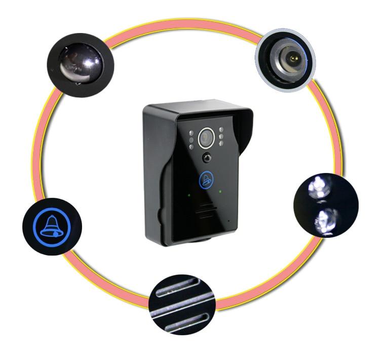 Wireless Intercom WIFI-Version Video-Türsprechanlage - Schutz und Sicherheit - Foto 4