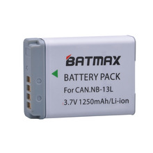 1Pc 1250MaH  NB-13L NB13L NB 13L Battery for Canon PowerShot G5 X, PowerShot G1G7 X, G7 X Mark II, G9 X, SX720 HS Digital Camera