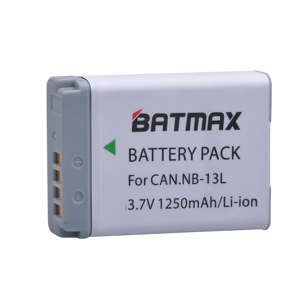 1Pc 1250MaH NB-13L NB13L NB 13L Battery for Canon PowerShot G5 X, PowerShot G1G7 X, G7 X Mark II, G9 X, SX720 HS Digital Camera