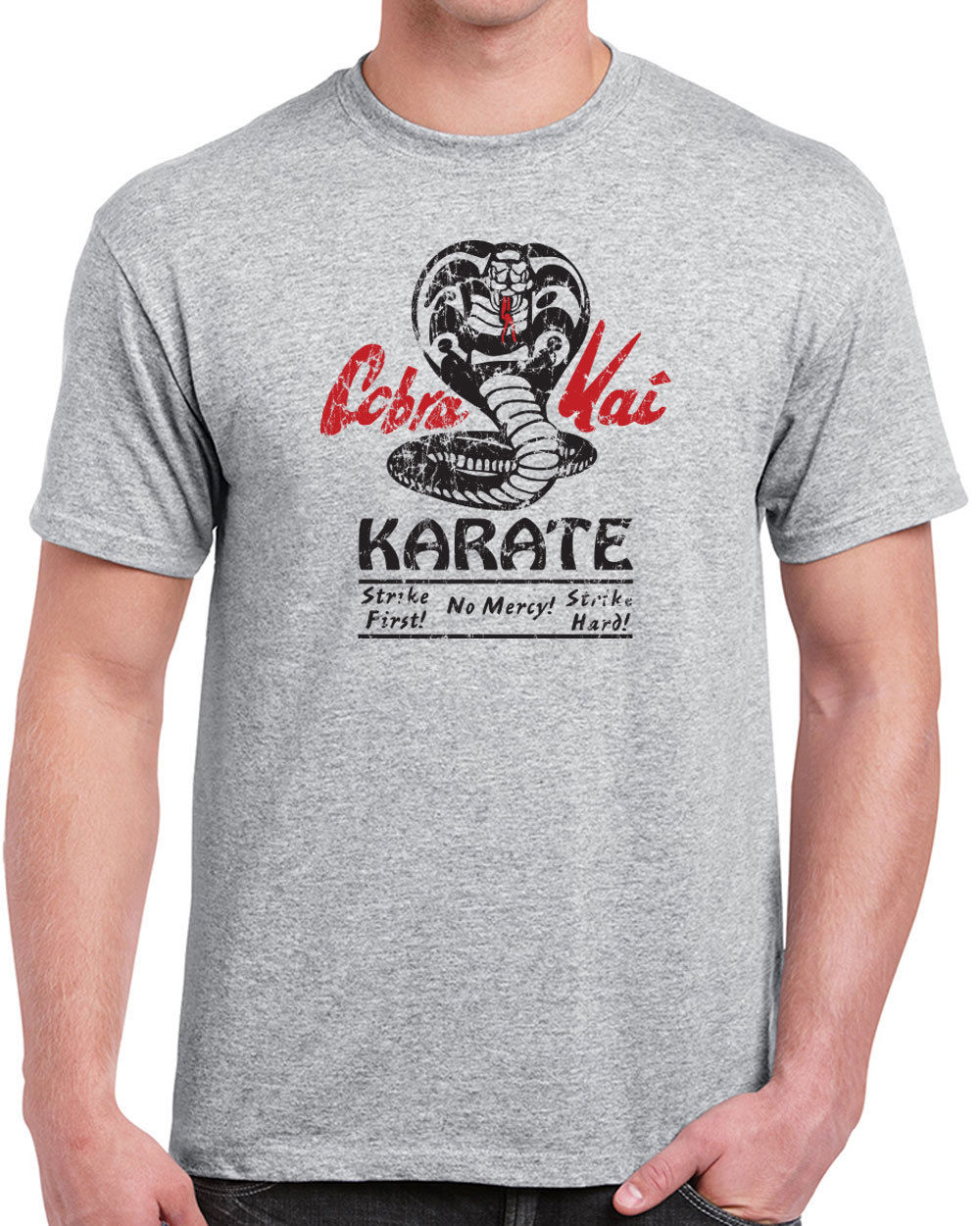 Funny Shirts Men'S O-Neck Kai Dojo Karate Movie 80S Kid Costume Vintage Short Sleeve Fashion 2018 Tees image