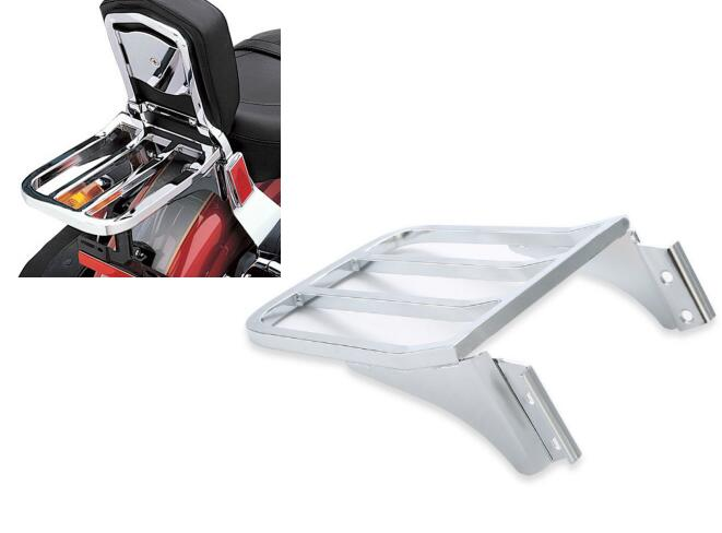 2-UP Sissy Bar Luggage Rack For Harley Sportster XL1200 883 72 48 Nightster Dyna camouflage canvas motorcycle saddle bag bike luggage bags for harley sportster trouing dyna xl 883 1200 yamaha kawasaki mk004
