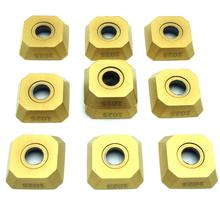 lathe tools R245 12T3M PM 1025/1030/4240 milling machining cutter tools blade square cnc processing milling carbide inserts R245 купить дешево онлайн